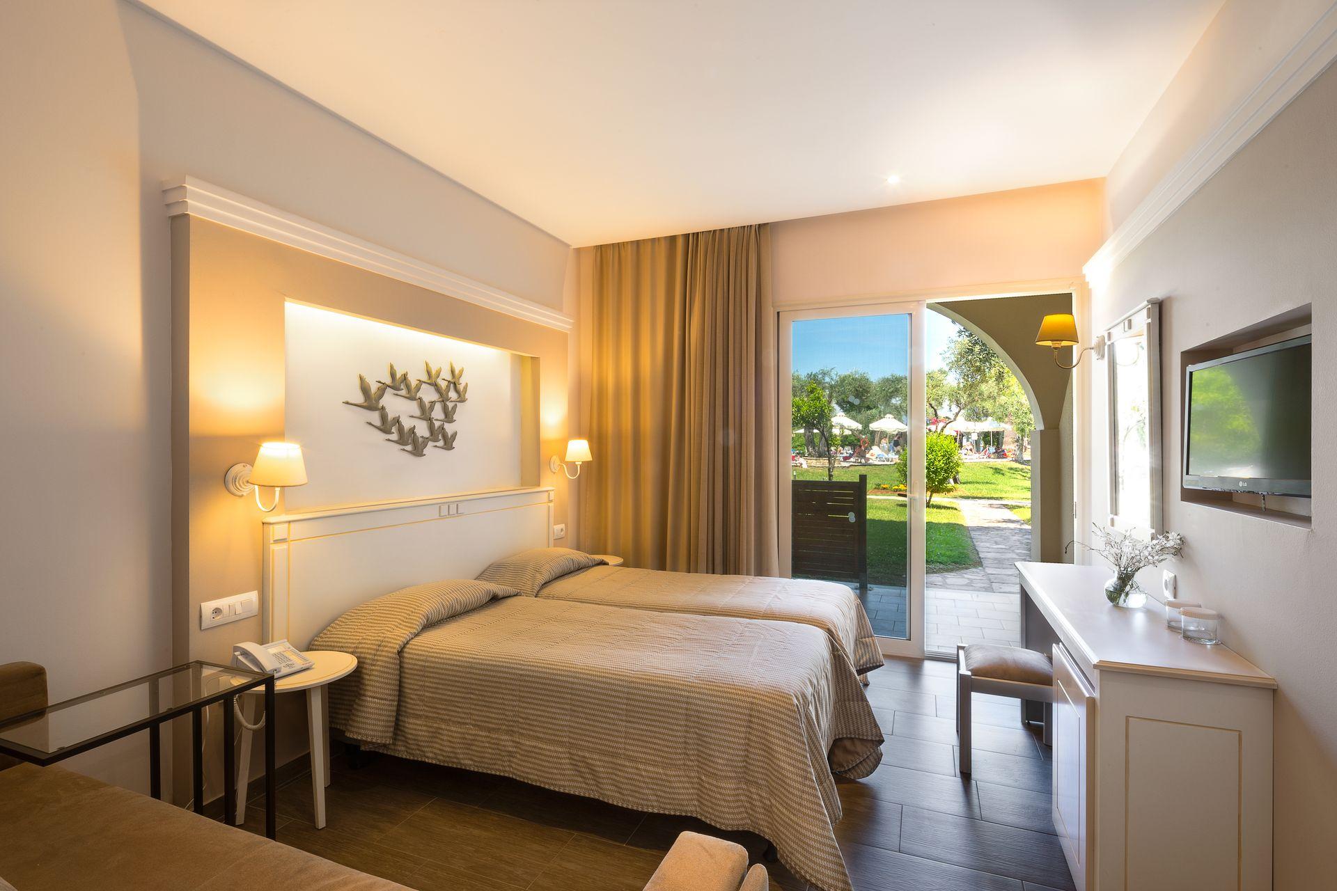 Superior-Doppelzimmer mit Gartenblick